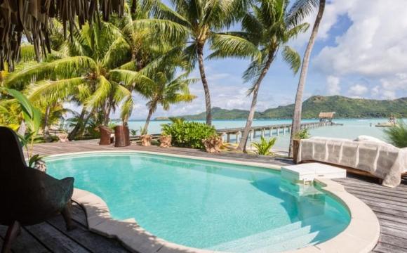 8 hôtels de rêve à Bora Bora - Le Blue Heaven Island