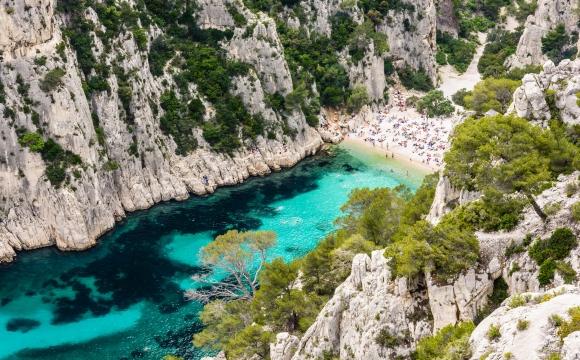 Les 10 plus belles plages de Méditerranée - Calanque d'En-Vau, Marseille