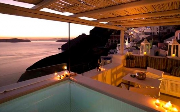 10 hôtels romantiques à Santorin - Son petit chez-soi à Fira