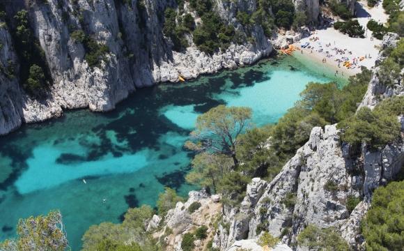 Les 10 plus belles plages de Méditerranée - Calanques d'En-Vau, Marseille