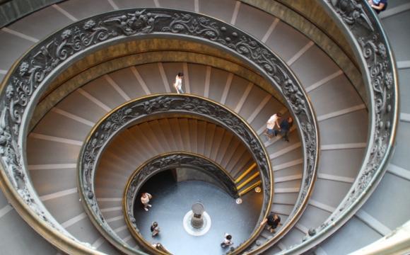 Les 15 plus belles marches du monde - Les escaliers de bronze