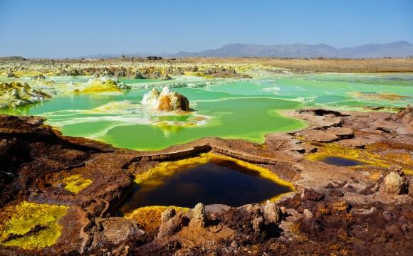 Les 10 plus belles sources d'eaux chaudes du monde - La vallée du Rift en Ethiopie
