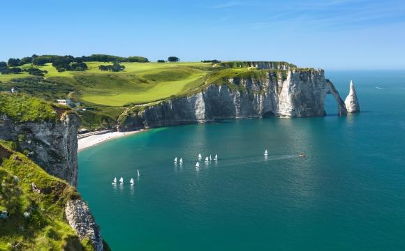 Les 10 plus belles falaises du monde - Les falaises d'Etretat
