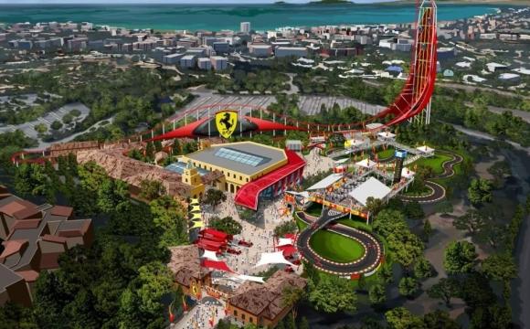 5 nouveautés 2016 à découvrir dans les parcs d'attraction - Le Ferrari land à Port Aventura