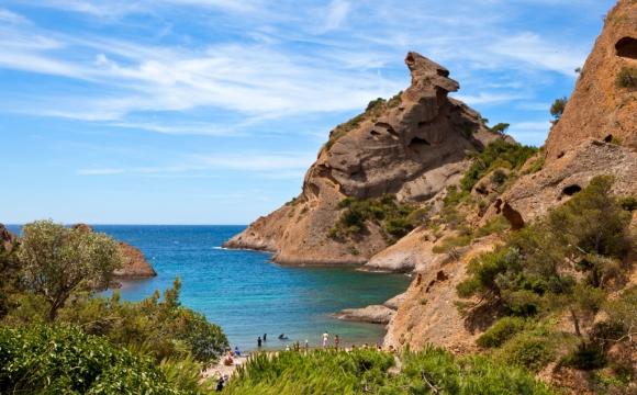 Les 12 plus belles plages du Sud Est de la France - La calanque de Figuerolles