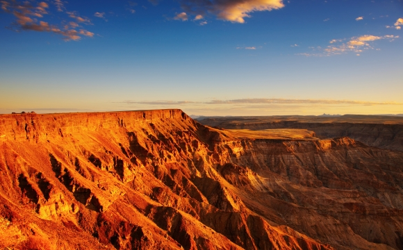 Les 10 plus beaux canyons du monde  - Fish River