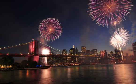 Les 10 plus beaux feux d'artifice du monde - New-York