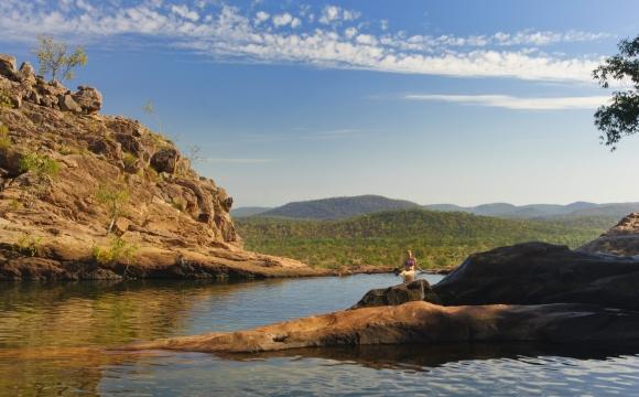 Les 10 plus belles piscines naturelles au monde - Piscine de Gunlom - Jabiru
