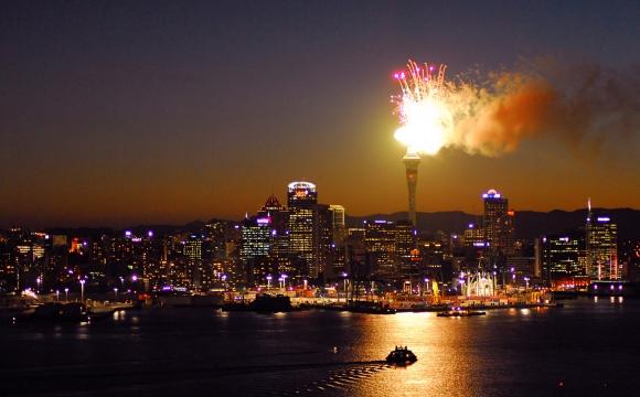 Les 10 plus beaux feux d'artifice du monde - Auckland