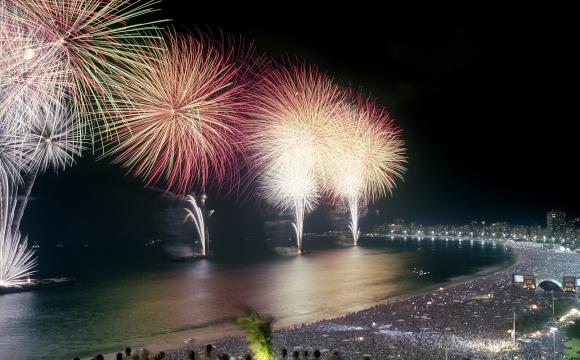 Les 10 plus beaux feux d'artifice du monde - Rio de Janeiro