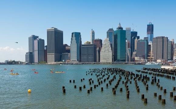 10 activités gratuites à faire à New-York - Pagayer en kayak sur l'Hudson