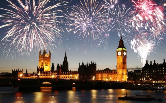 Les 10 plus beaux feux d'artifice du monde - Londres