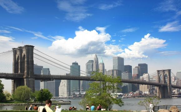 10 activités gratuites à faire à New-York - Piscine à Brooklyn Bridge Park