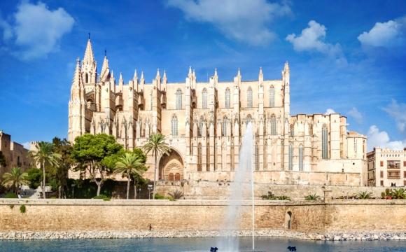 Les 10 plus beaux paysages de Majorque - Cathédrale de Palma de Majorque