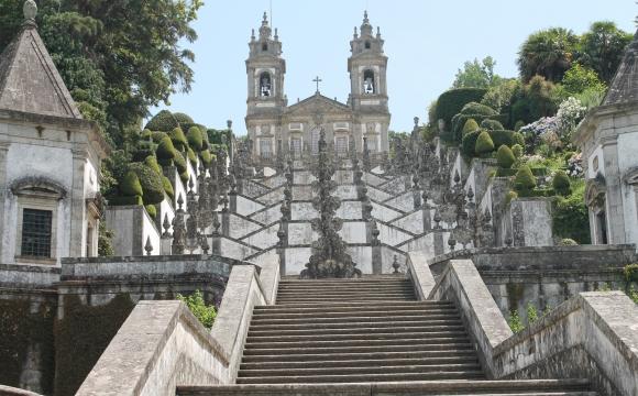 Les 10 plus beaux paysages du Portugal - Le Sanctuaire du Bon Jésus du Mont