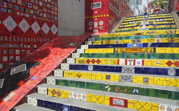 Les 15 plus belles marches du monde -  Les escaliers Selaron
