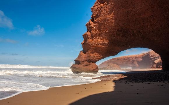 Les 10 plus belles falaises du monde - Falaises de la plage de Legzira