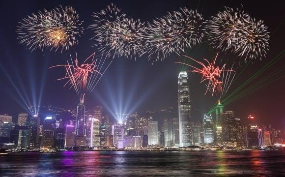 Les 10 plus beaux feux d'artifice du monde - Hong Kong