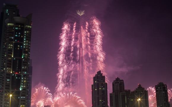 Les 10 plus beaux feux d'artifice du monde - Dubaï