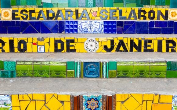 Les 10 plus beaux paysages du Brésil - Escaliers Selaron