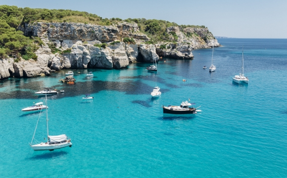 12 endroits pour nager dans l'eau turquoise - Cala Macarelleta