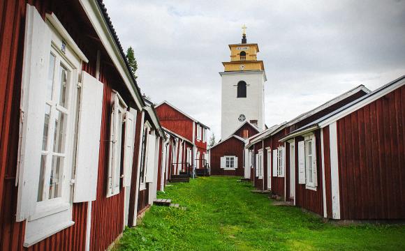 10 visites incontournables en Suède - Gammelstad, le village-église