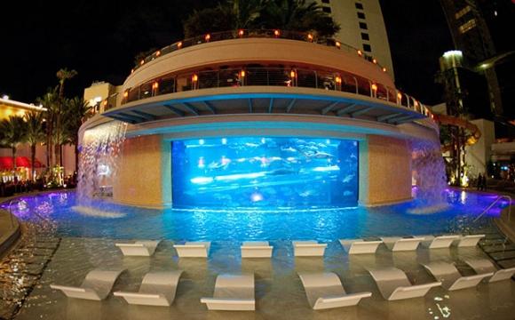 10 hôtels avec une piscine exceptionnelle - Golden Nugget, Las Vegas