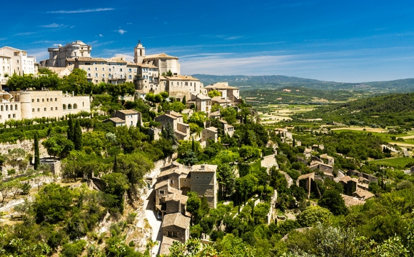 Les 10 plus beaux villages de France - GORDES, Provence