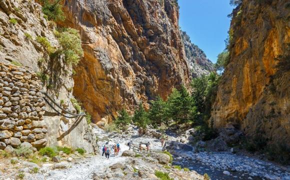 10 visites immanquables en Crète - Gorges de Samaria (Omalos - Agia Roumeli)