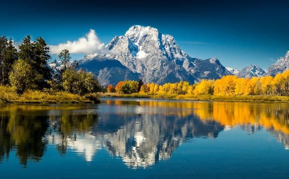Les 15 plus beaux paysages des Etats-Unis - Grand Teton