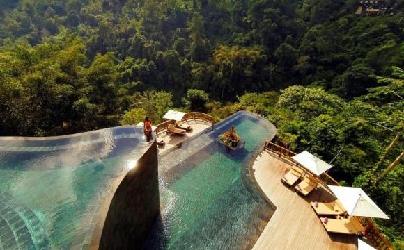 10 hôtels avec une piscine exceptionnelle - Hanging Gardens Ubud, Bali