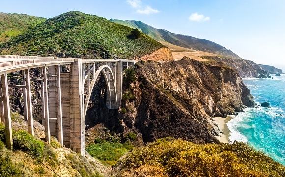 Les 10 plus belles routes au monde à faire en moto - La Highway 1, Californie, USA