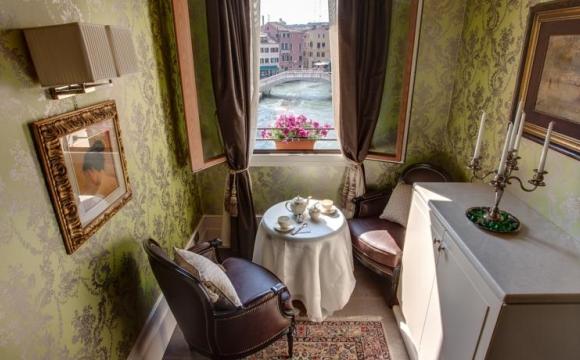 10 hôtels romantiques à Venise - L'hôtel Moresco