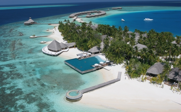 10 hôtels avec une piscine exceptionnelle - Huvafen Fushi, Maldives