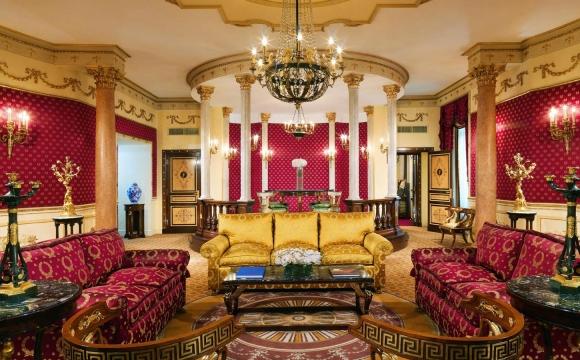 Les 10 plus belles suites d'hôtels du monde  - L'Imperial Suite de l'hôtel Westin Excelsior
