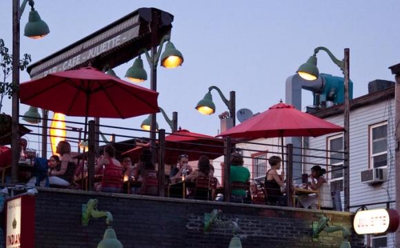 10 bars rooftops à New-York - Juliette : une ambiance française