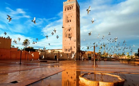 Top 10 des lieux à visiter à Marrakech - La mosquée Koutoubia