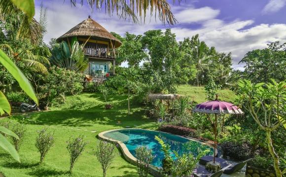 10 maisons les plus populaires de Airbnb - La Balian Treehouse à Bali en Indonésie