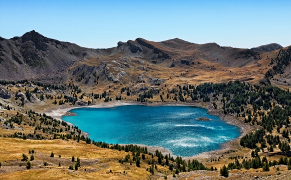 Les 10 plus beaux lacs de France - Le lac d'Allos - Alpes-de-Haute-Provence