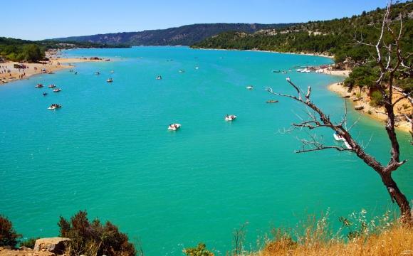 Les 10 plus beaux lacs de France - Le lac de Sainte-Croix - Var