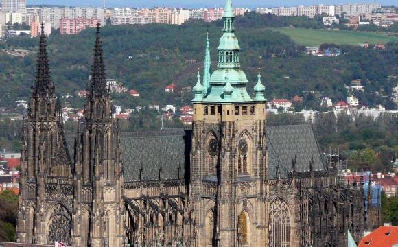 10 activités gratuites à faire à Prague - La cathédrale Saint Guy