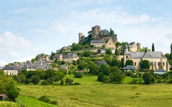 Les 10 plus beaux villages de France - TURENNE, Limousin