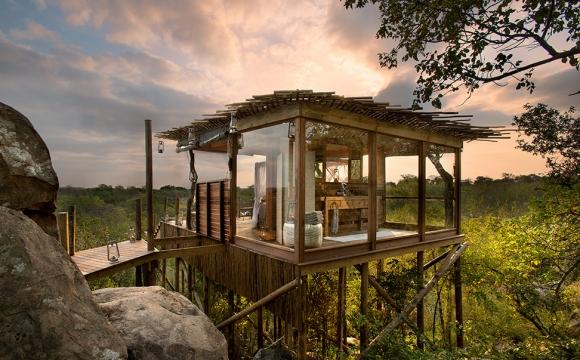 10 plus beaux hôtels en hauteur - Lion Sands Game Reserve