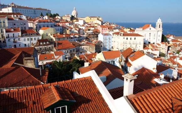 Vue des toit de Lisbonne