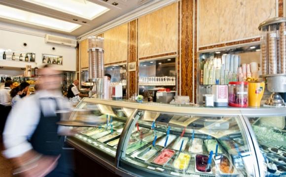 Les meilleures glaces de Rome - Tre Scalini