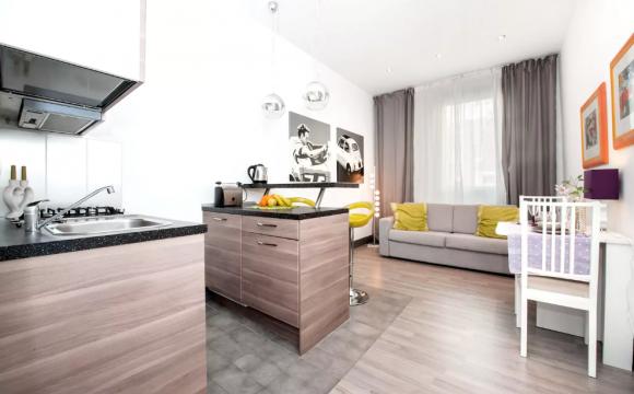 10 maisons les plus populaires de Airbnb - Le Brand New Mini Loft de Rome à Latium en Italie