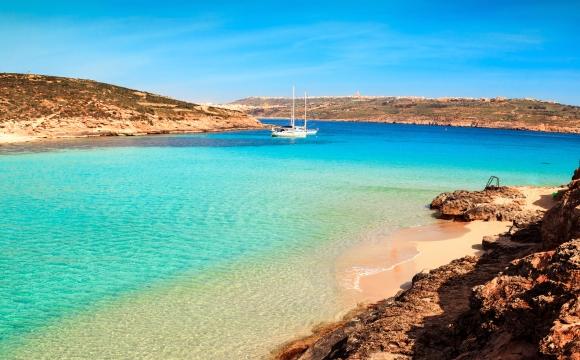 Les 10 plus belles plages de Méditerranée - Lagon de Comino, Malte