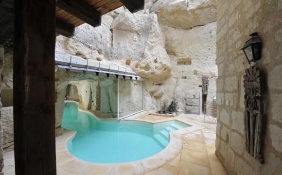 10 hôtels insolites en France - Troglodytes en Pays de Loire
