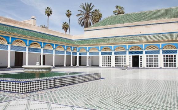 Top 10 des lieux à visiter à Marrakech - Palais de la Bahia