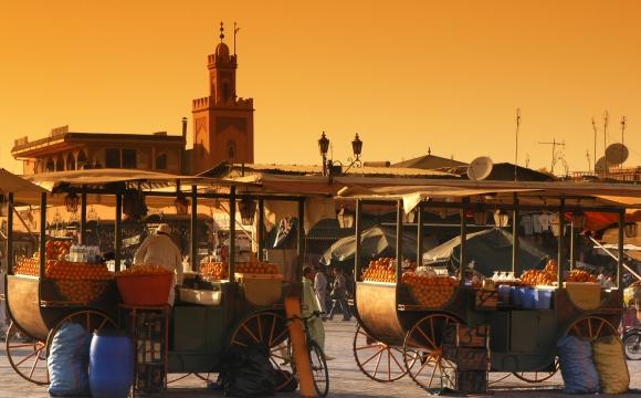 Top 10 des lieux à visiter à Marrakech - La célèbre place de « Jemaa-el-Fna »
